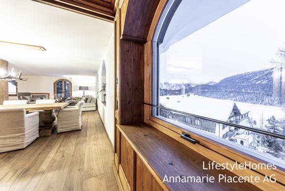 Bild 1/23: Aussicht St. Moritz