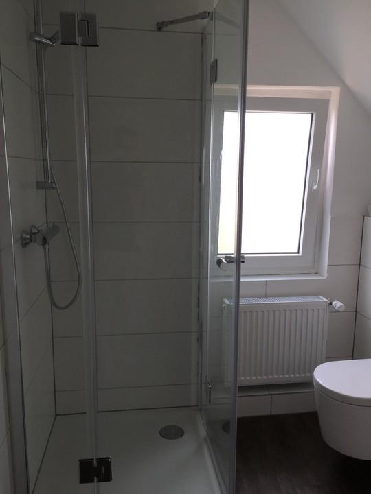 neues Badezimmer im DG