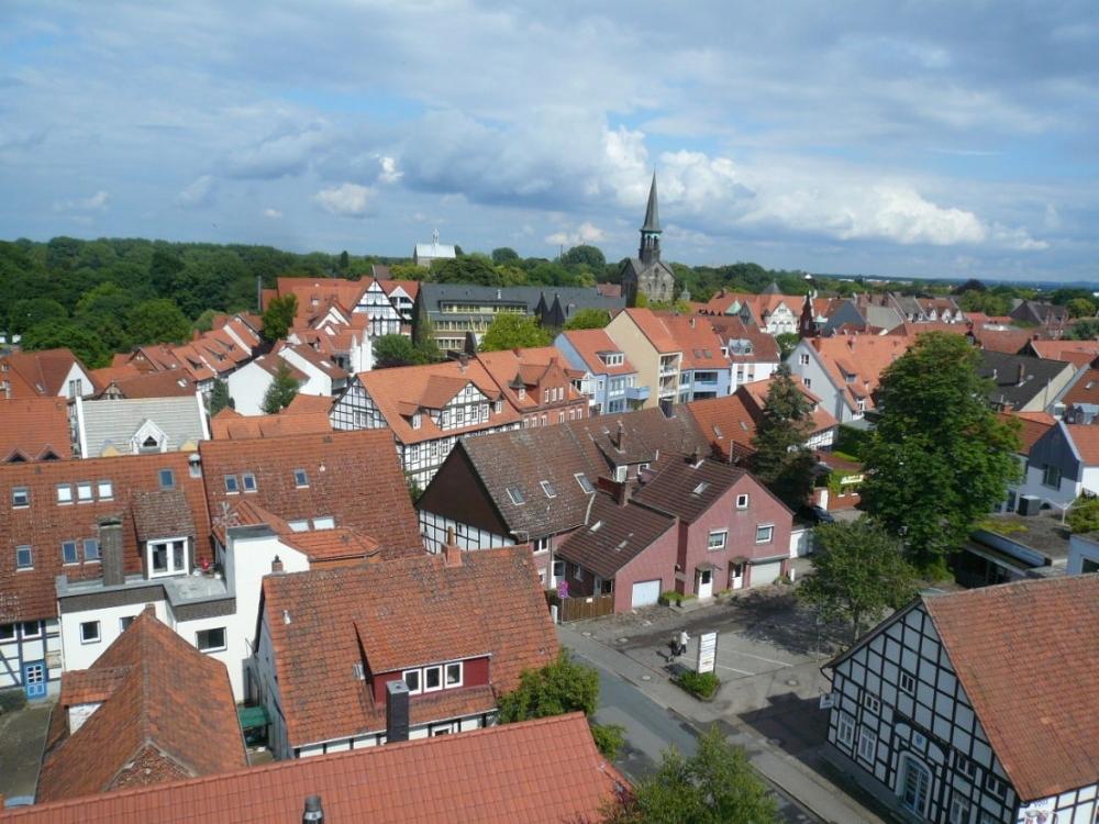 Blick über Wunstorf