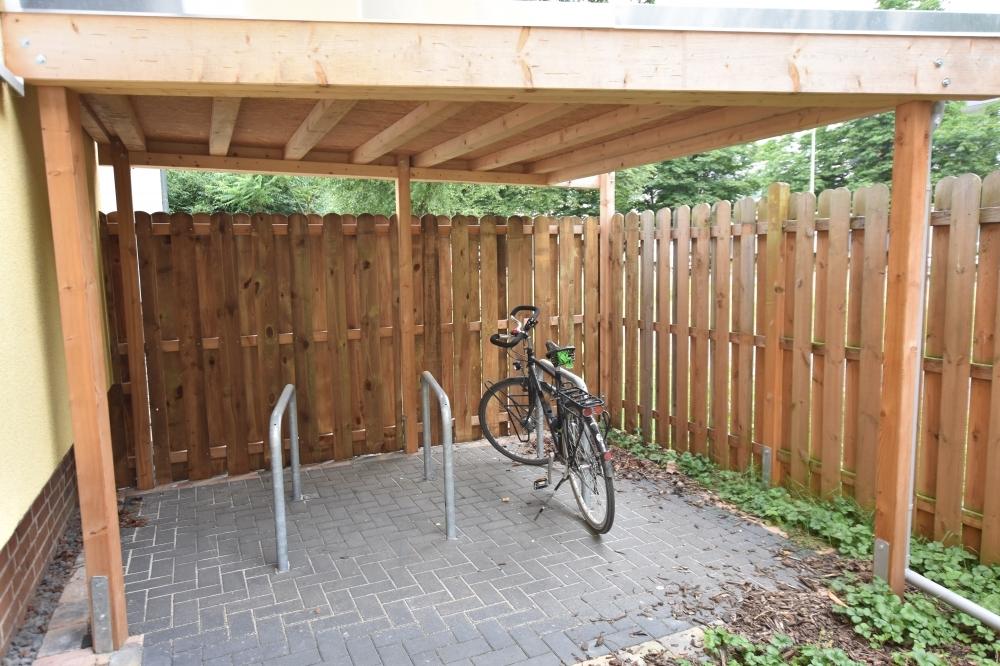 Fahrrad Abstellfläche