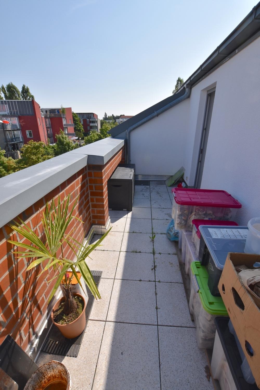 zweite Dachterrasse