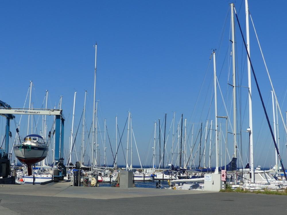 Yachthafen in Gelting