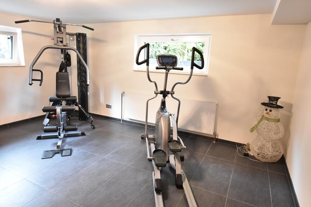 Fitnessbereich Souterrain