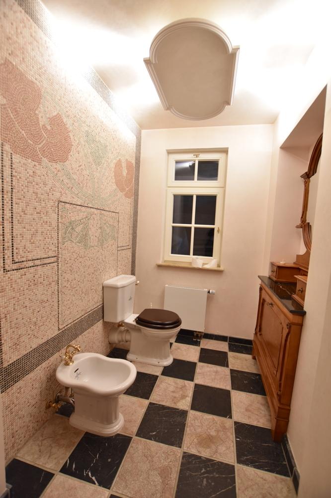 Gäste-WC Damen Souterrain