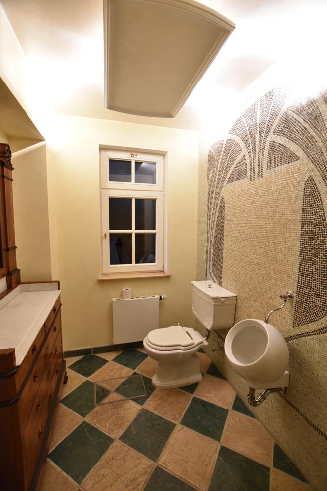 Gäste-WC Herren Souterrain