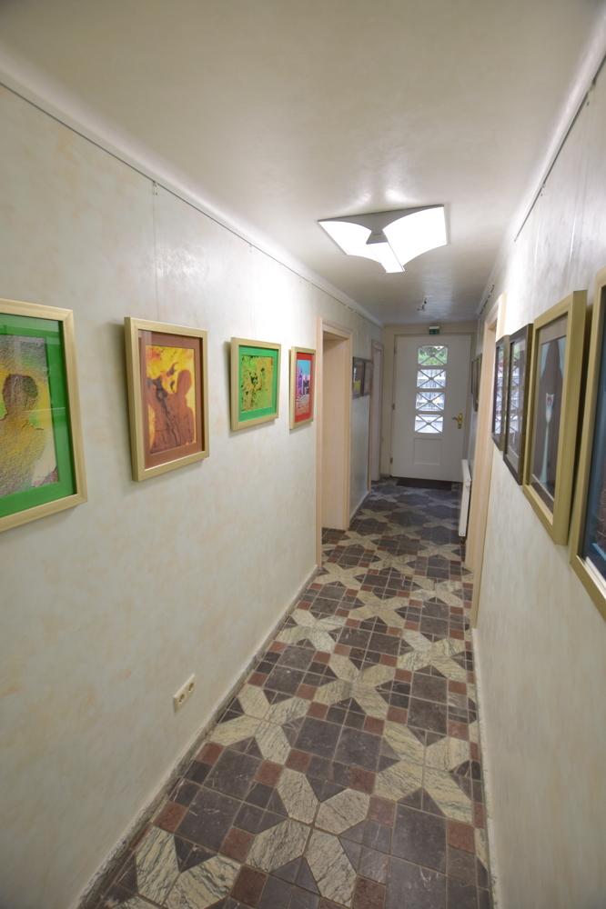 Eingang Souterrain
