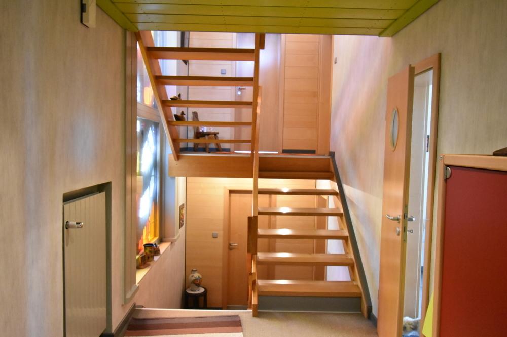 Split Level Treppenhaus