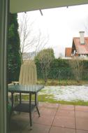 Blick auf Terrasse und Garten