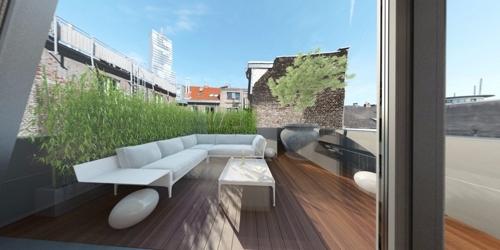 10 Dachterrasse Schlafzimmer