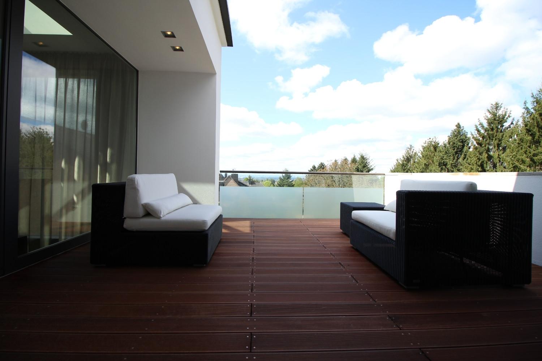 Terrasse Schlafzimmer