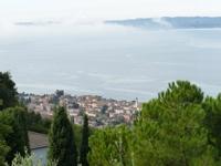 Blick nach Albisano von der Terrasse