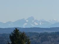Das Isartal und die Berge vor der Haustüre
