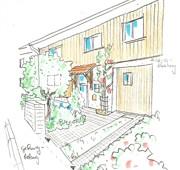 Hauseingangsbereich, Planung
