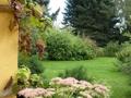 Ausblick vom Gartenhaus