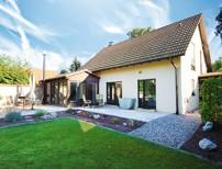 Sehr gepflegtes Niedrigenergiehaus mit hochwertiger Ausstattung in Spitzenlage von Waldheim