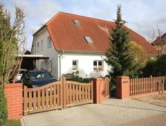 Gepflegte Doppelhaushälfte mit bester Ausstattung mit herrlichem Weitblick auf Felder und Wiesen