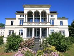 Historisches Villenanwesen: Villa Bergmann - Privatnutzung und auch als Büro - Seezugang -