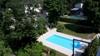 Blick v. Balkon z. POOL