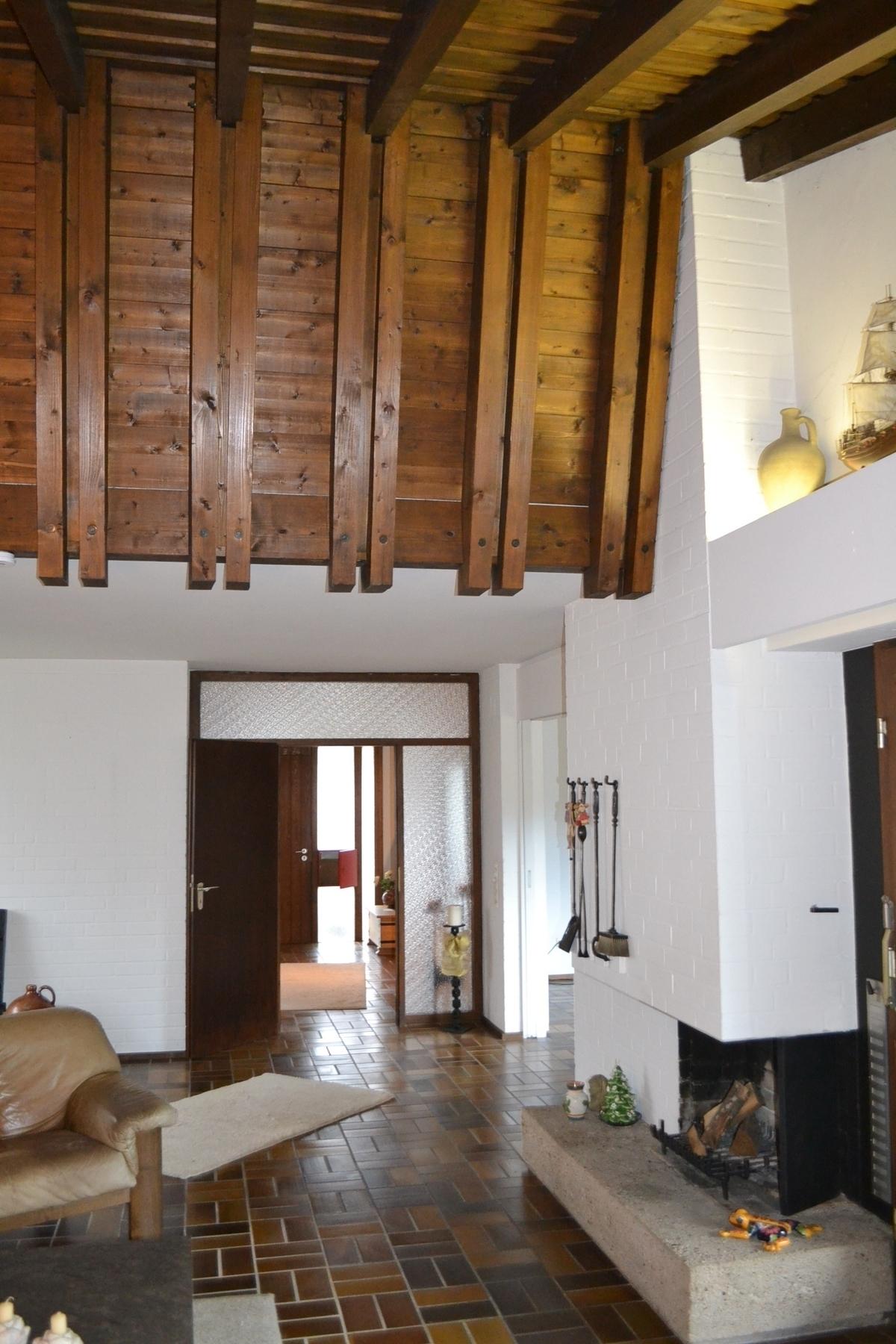 Wohnzimmer Kamin