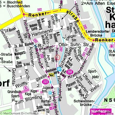 Lageplan Hammerstrasse 49