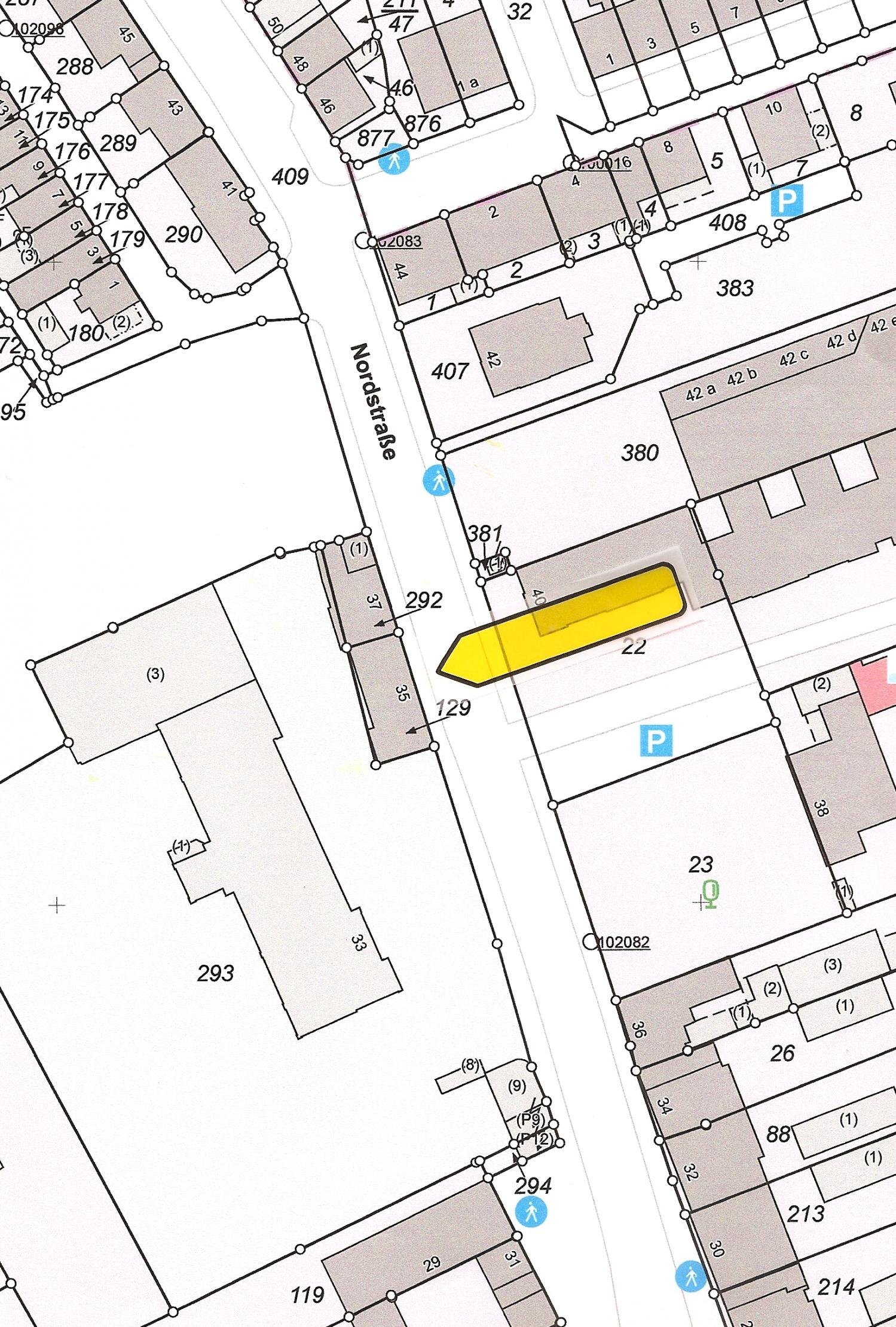 Lageplan Nordstraße 35