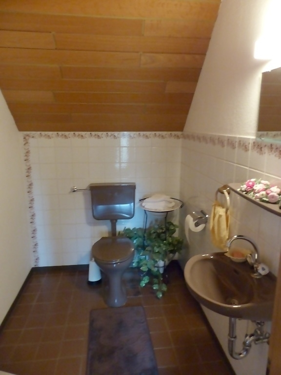 WC im Obergeschoss