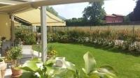 Hochwertige, sonnige Eck-Gartenwohnung, 3.5 Zi.(99m2), grosser Garten (218m2), Waschturm im 2. Bad
