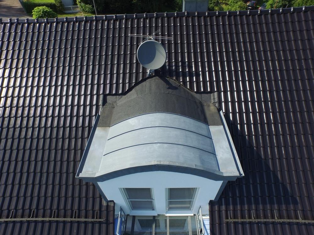 Immobilie Drohnenaufnahme Dach