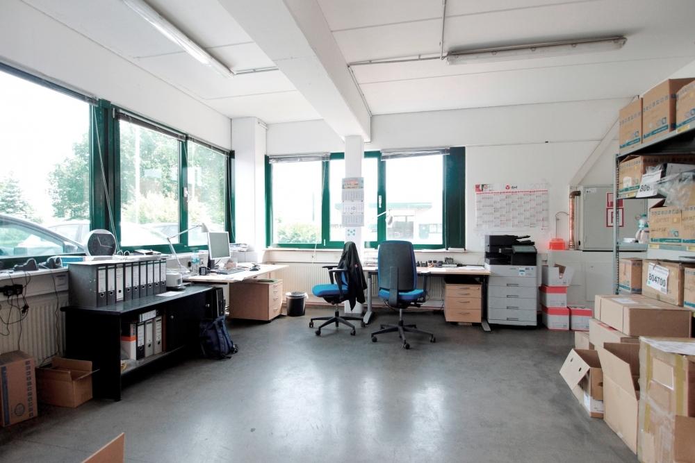 Büro des Lagerleiters