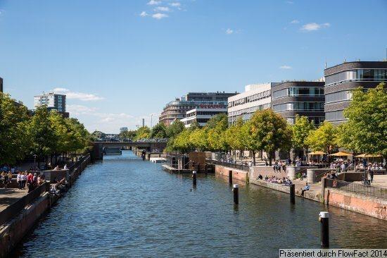Lage am Kanal (Foto: Carsten Brügmann)