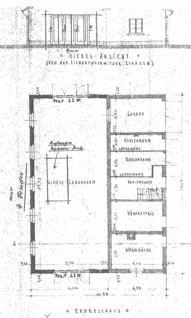 Grundriss-Garage