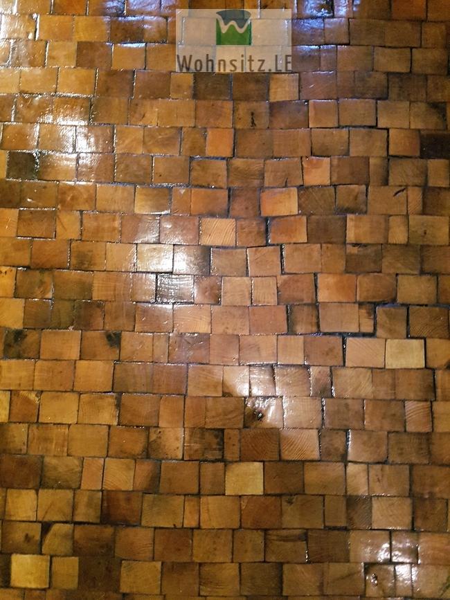Detail Holzpflaster