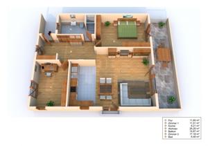 3D Grundriss W3