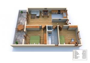 3D Grundriss W6