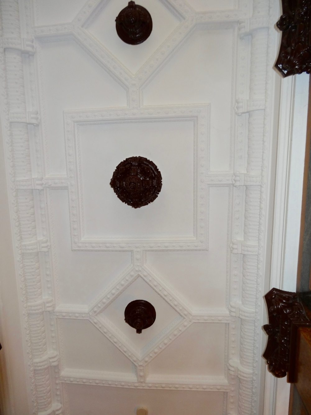 Stuckdecke Eingangshalle