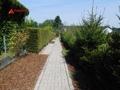 Weg zum hinteren Garten