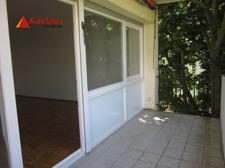 Der Balkon mit Zugang vom Wohnraum