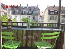 Der 2. Balkon zum Hof hinaus