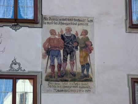 Bild am Schweizerhaus