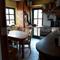 Essecke und Terrassenzugang in der Küche