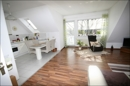 Blick in den offenen Wohn-Küchenbereich