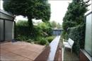 Terrasse, Kelleraußentreppe und GArten
