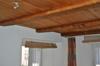 Detail von den Holzdecken