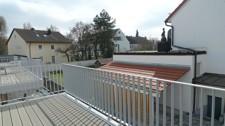 Blick über den Balkon