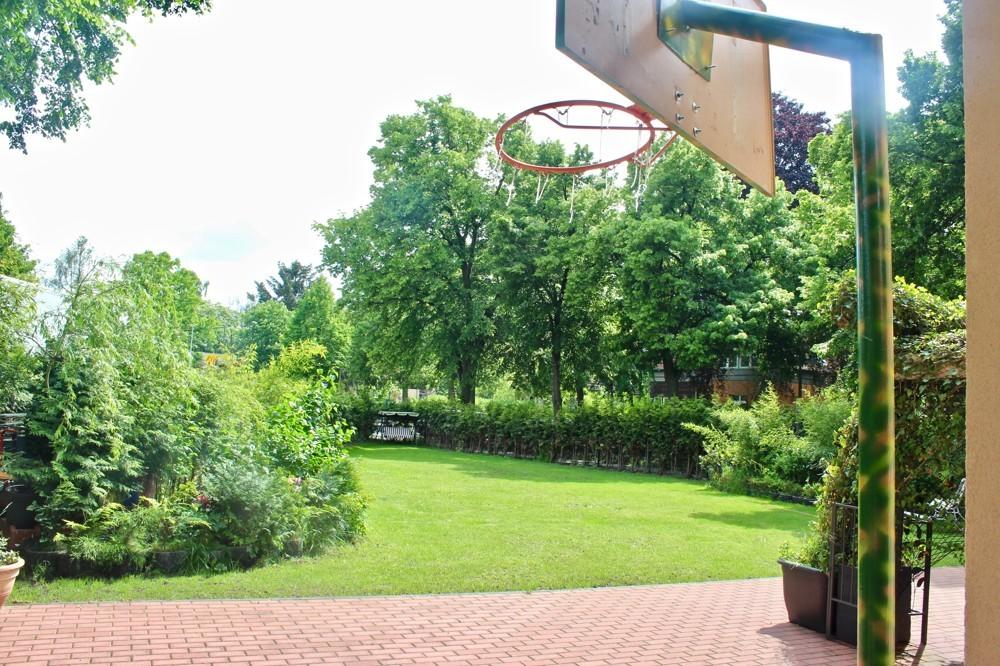 Blick zum Garten