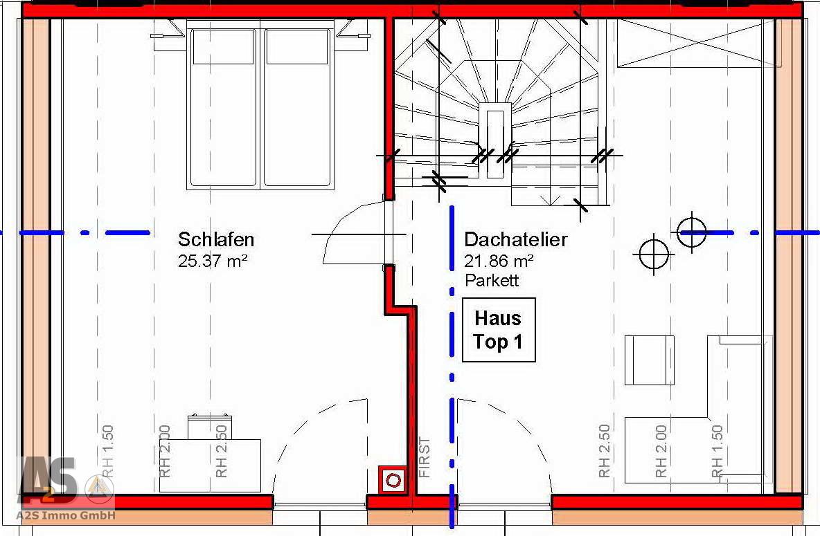 Haus 1 Dachatelier