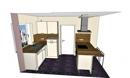 Küchenplanung mit Blick auf Vorratsraum