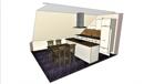 offene Küchenplanung Blick 1
