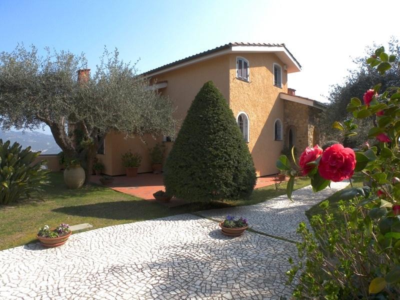 Villa in Ligurien mit Meerblick - Villa Giara - Ligurien