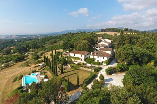 Florierende touristische Einrichtung mit Weinproduktion 25min. von Florenz entfernt